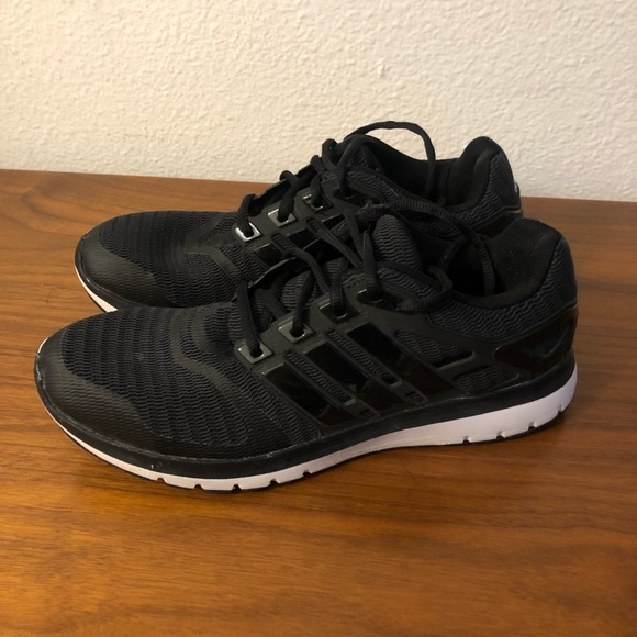 adidas Shoes - ADIDAS Cloudfoam Black Lightweight Sneaker